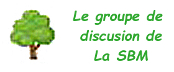 Groupe de discussion de la SBM - Logo